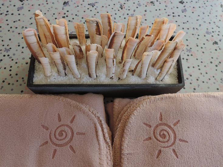 Warme Fleece Decken für die Gastronomie und Terrasse