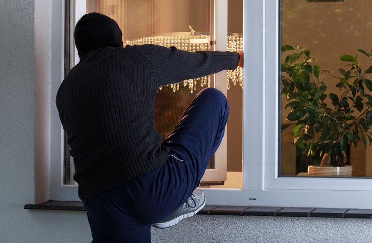 Einbruch durch Fenster; Detektei Bonn, Detektiv Bonn, Privatdetektiv Bonn