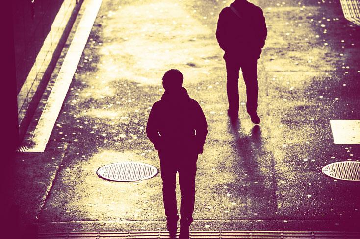 Stalker auf dunkler Straße; Privatdetektiv Bonn, Privatdetektei Bonn, Detektei Bonn