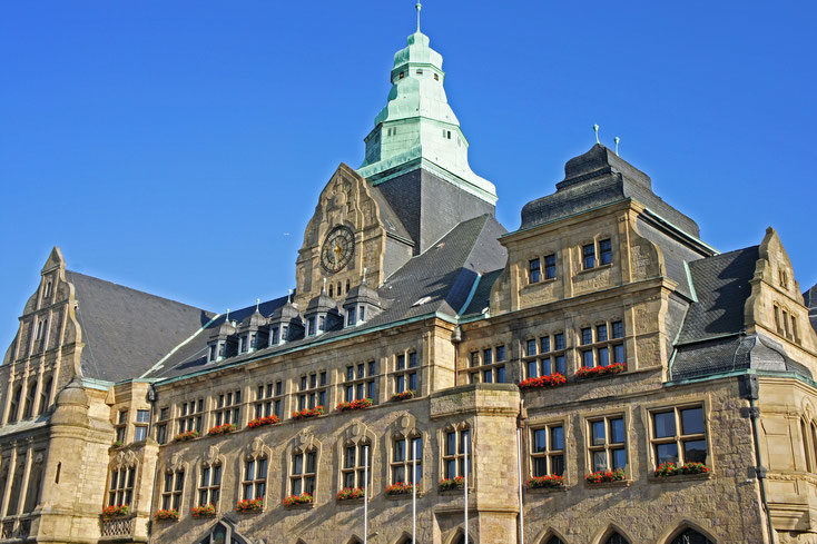 Town Hall; Recklinghausen detective agency, private investigator Recklinghausen