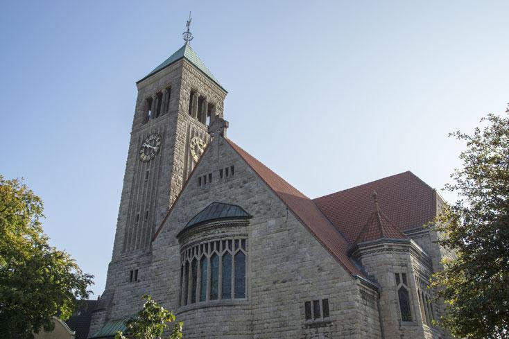 Christuskirche; , Wirtschaftsdetektei Recklinghausen, Privatdetektei Recklinghausen, Detektivteam