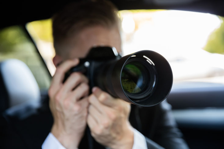Kamera Tele; Detektei Marl, Detektiv Marl, Privatdetektiv Marl, Wirtschaftsdetektei Marl