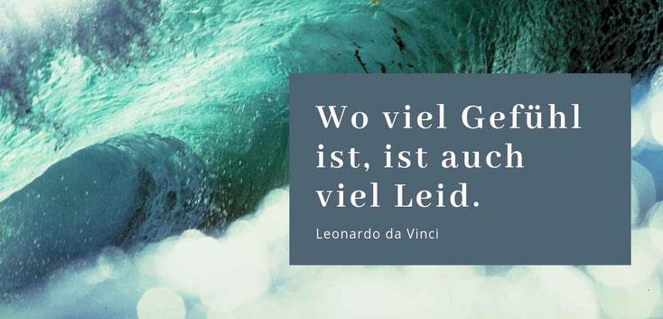 Wo viel Gefühl ist ist auch viel Leid - Leonardo da Vinci Gastbeitrag Veronique Couvrat über Emotionsregulation