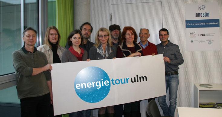 Gruppenfoto der energietour.ulm