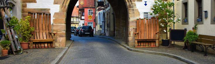 Straßenansicht auf den Winzerhof Kessler