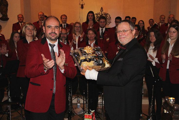 2017 - Würdiger Abschluss für und mit unserem langjährigen Dirigenten Arno Hoffmann