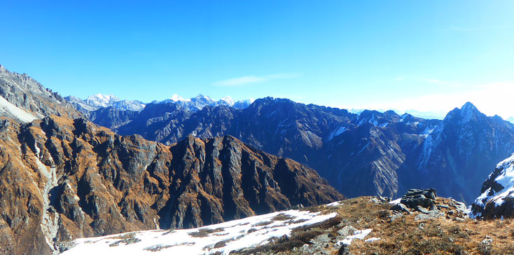 Langtang Highlands trek, Rolwaling and Langtang ranges