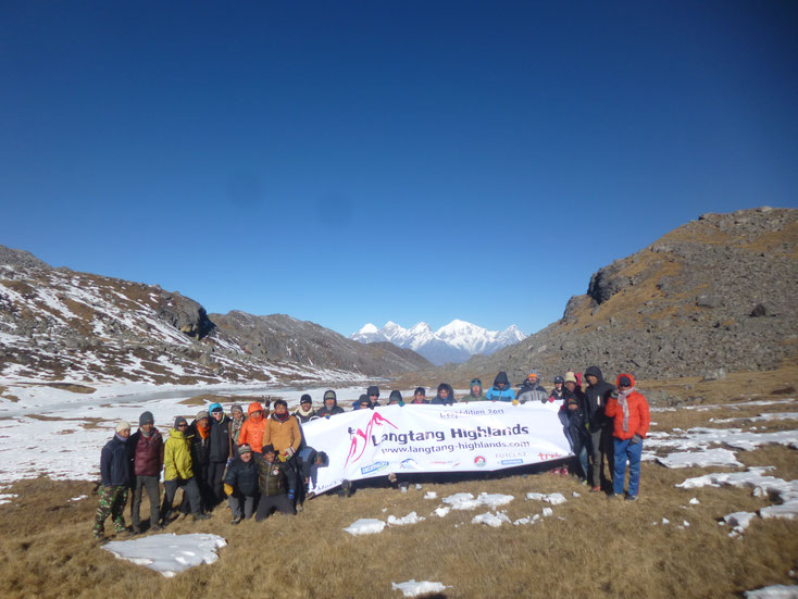 Trek Langtang highlands - ganesh pass