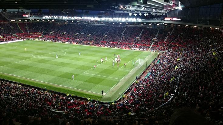 old trafford manchester united manu fans stadium