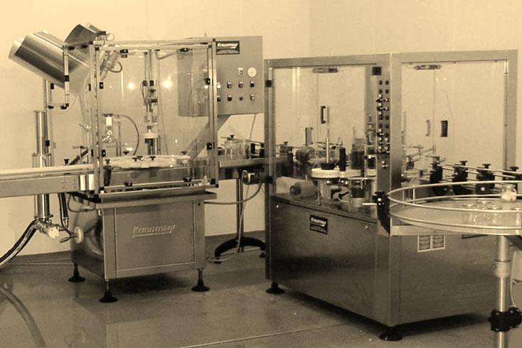 Автоматическая линия для наполнения конфитюров и джемов KKF 1200 в банку с закрытием Twist-Off