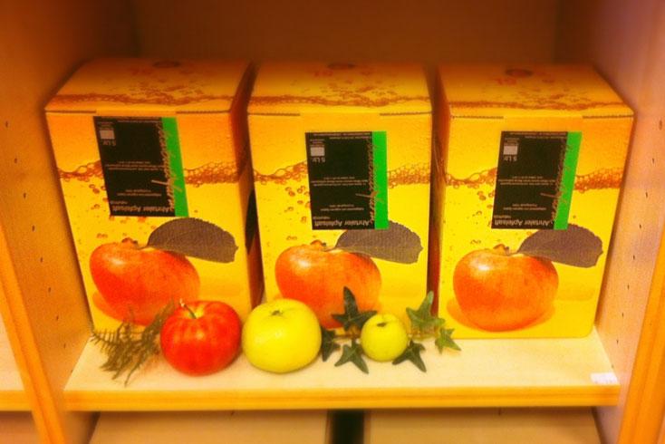 Пакеты Bag in Box с яблочным соком