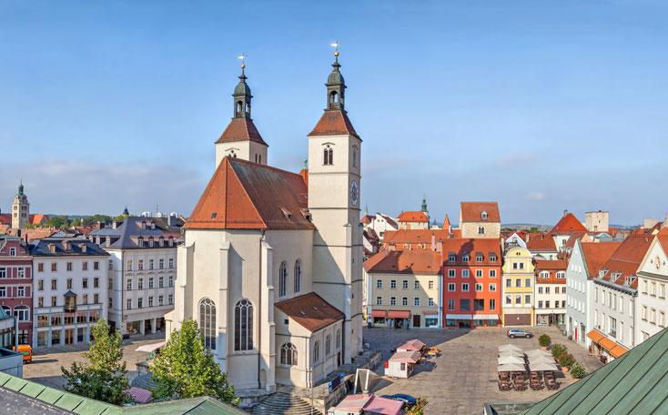 Neupfarrplatz Regensburg; Wirtschaftsdetektei Regensburg, Privatdetektei Regensburg