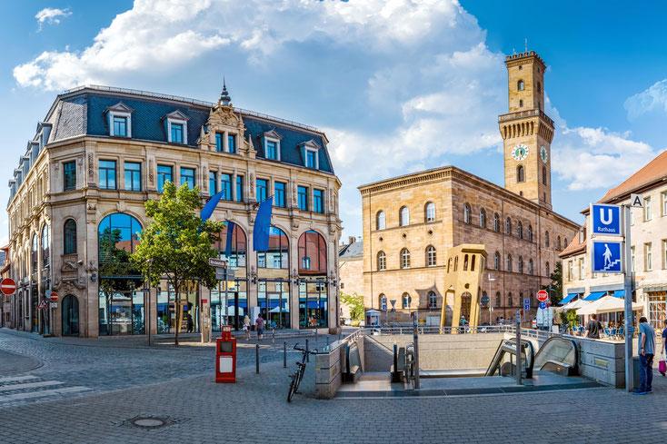 Rathaus Fürth; Detektei Fürth, Privatdetektiv Fürth, Detektiv Fürth, Wirtschaftsdetektei Fürth