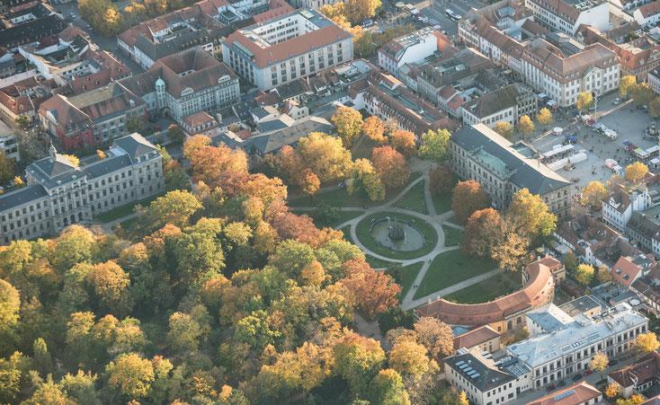 Schlosspark Erlangen; Detektei Erlangen, Detektiv Erlangen, Privatdetektiv Erlangen