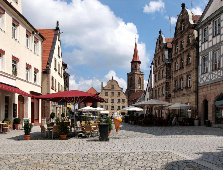 Grüner Markt; Privatdetektei Fürth, Wirtschaftsdetektiv Fürth, Detektivbüro Fürth