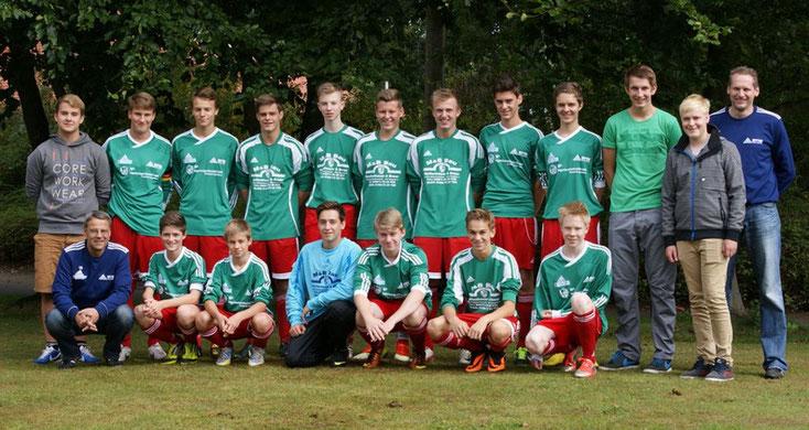 B Jugend 2014/15