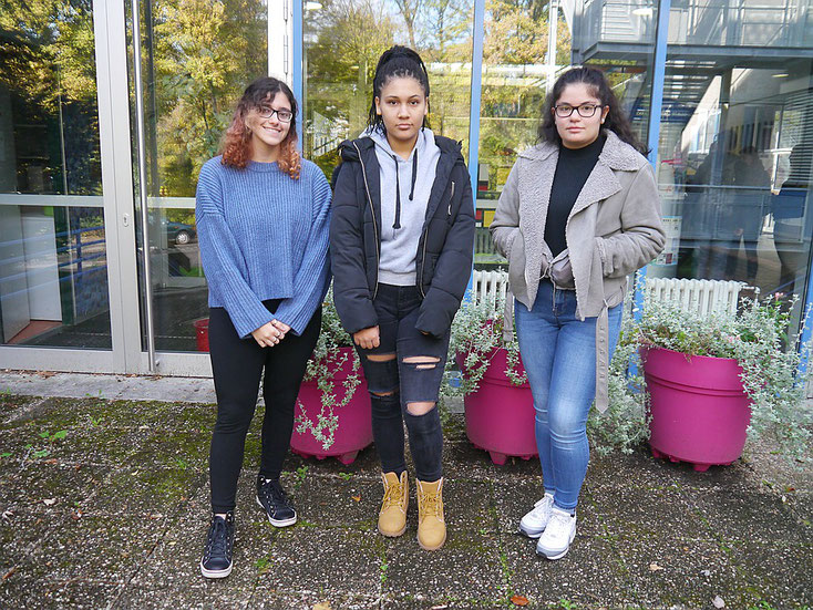 Unsere Streitschlichterinnen im Schuljahr 2018/19