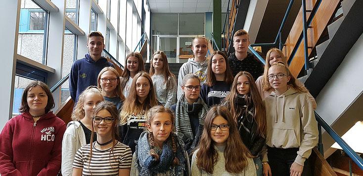Unsere CFR-Sanis im Schuljahr 2019/20