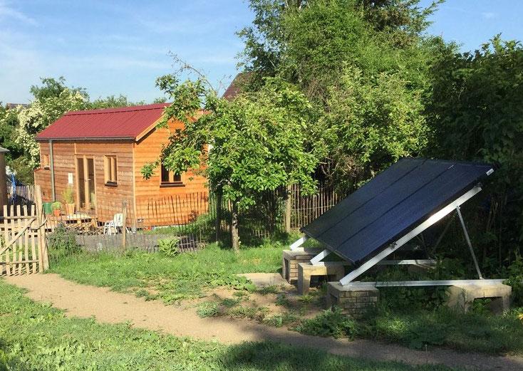 Autonomous power supply for a Tiny House