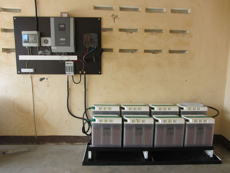 "Autonomous solar power supply for ""Ferme Agricole de Creuset"" - Sokodé - Togo"