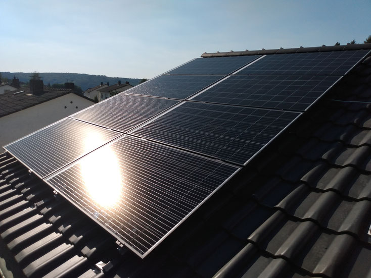 2,6 kWp Grid Connected PV System / Germany
