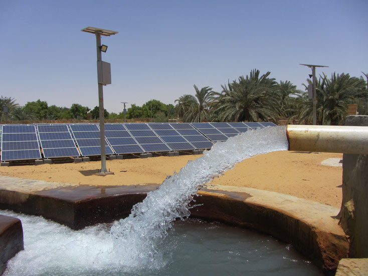 Solar pumping system in Egypt - Al Wahat Al Dakhlah - New Valley