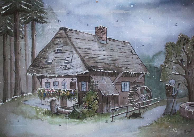 """Adventskalender """"Rankmühle"""", 2019"""