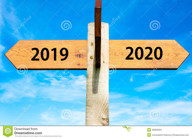 https://www.dreamstime.com/stock-illustration-happy-new-year-conceptual-image-wooden-signpost-two-opposite-arrows-over-clear-blue-sky-signs-image48962604