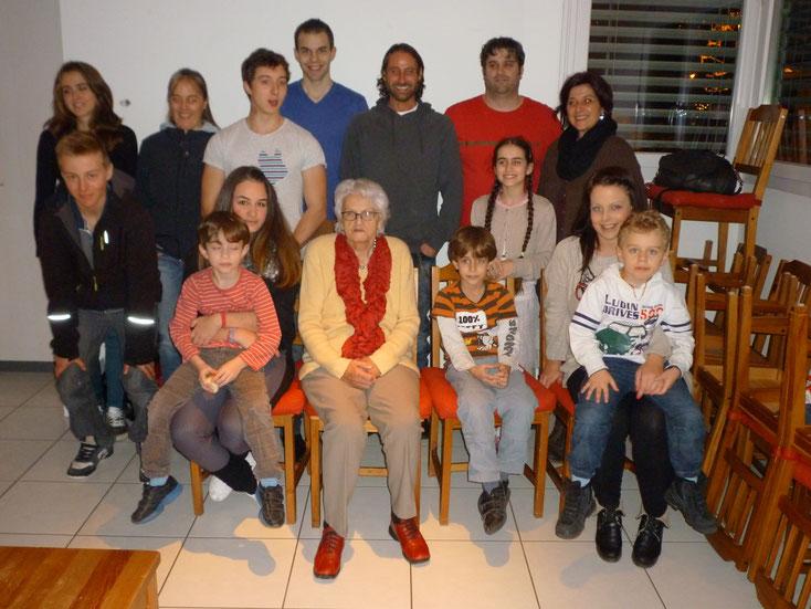 Weihnachtsfeier vom 24. Dezember 2012