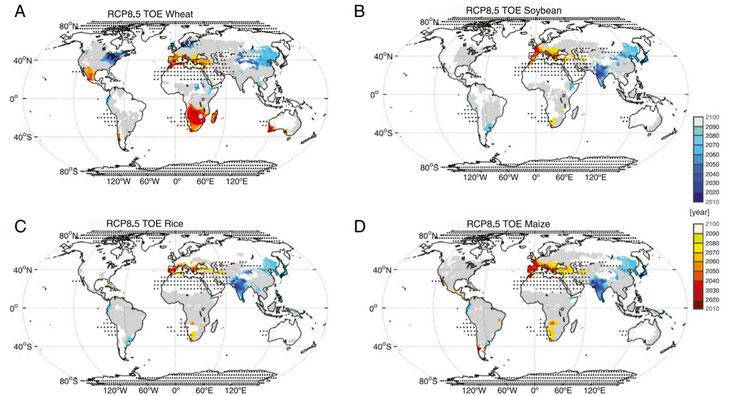 Effets changement climatique et agriculture