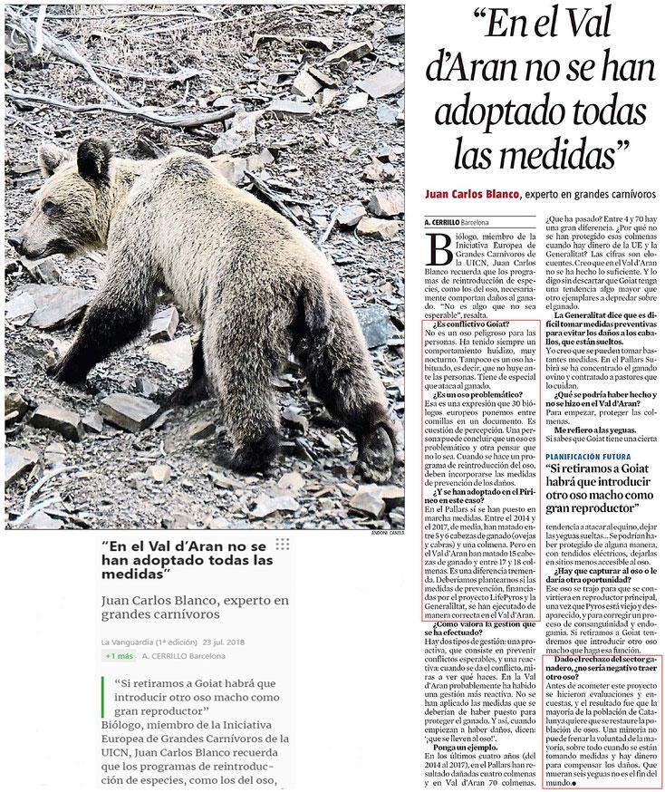 La Vanguardia -23.07.2018