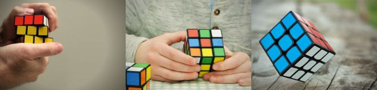 Schnell lösen cube rubiks Zauberwürfel schnell