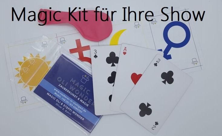 virtuelle Zaubershow, Live Zaubershows