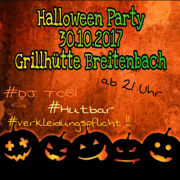 Halloween 30 Oktober.Halloween Party Am 30 Oktober Breitenbach Bei Schluchtern