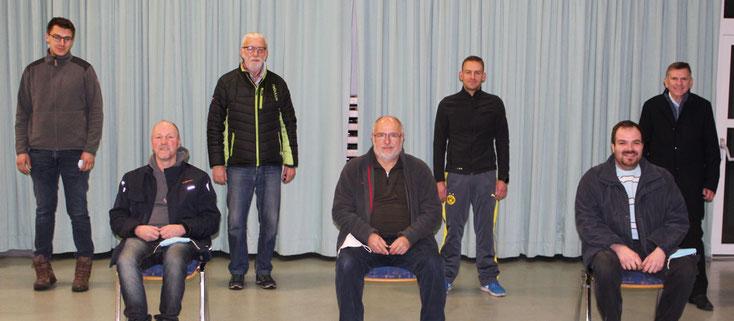 Ein Teil der Kandidaten für die Ortsbeiratswahl 2021 - Bild Fritz Christ