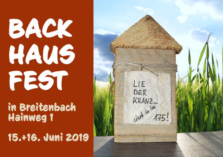 Backhausfest 2019, Liederkranz Breitenbach