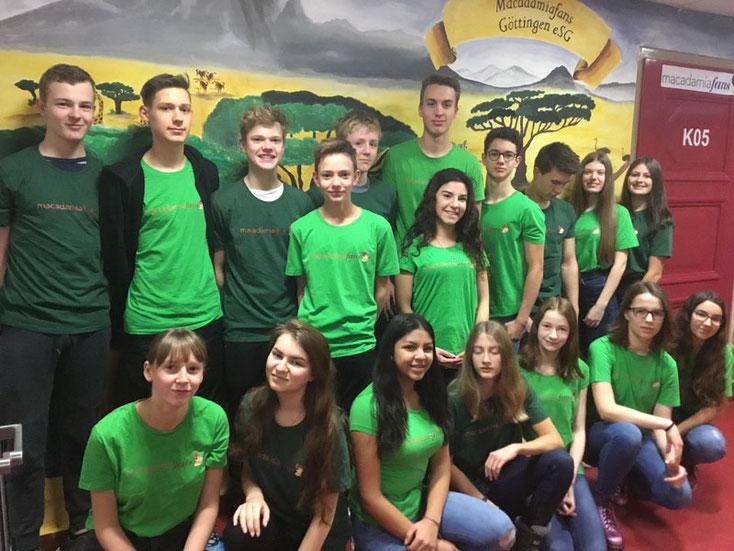 Nachhaltige Schülerfirma 2017/18