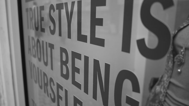 True style is about being yourself