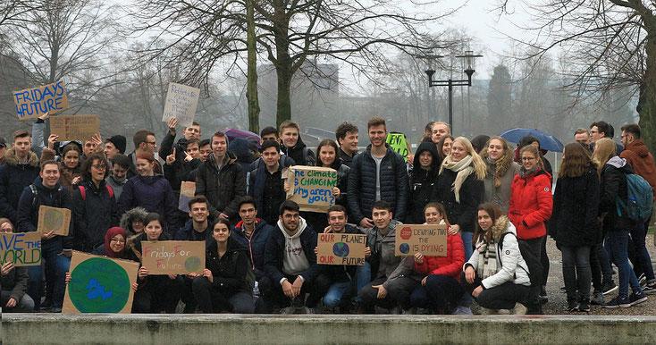 Demo für den Klimaschutz - FFF - Friday for Future