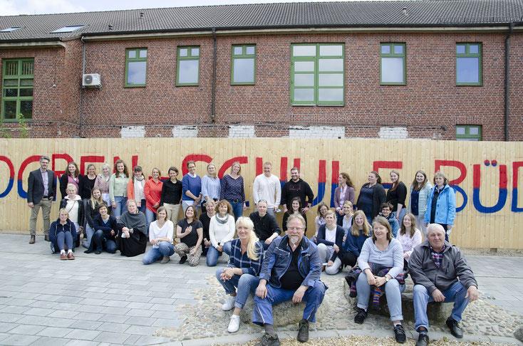 Das Kollegium der Astrid-Lindgren-Schule (beide Standorte)