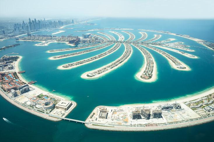 Palm Islands; Wirtschaftsdetektiv Dubai, Detektiv-Team Dubai, Detektivbüro Dubai, Privatdetektei Dubai