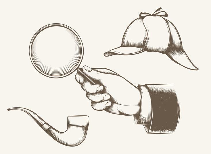 Detektiv-Gadgets; Detektiv München, Detektei München, Privatdetektiv München