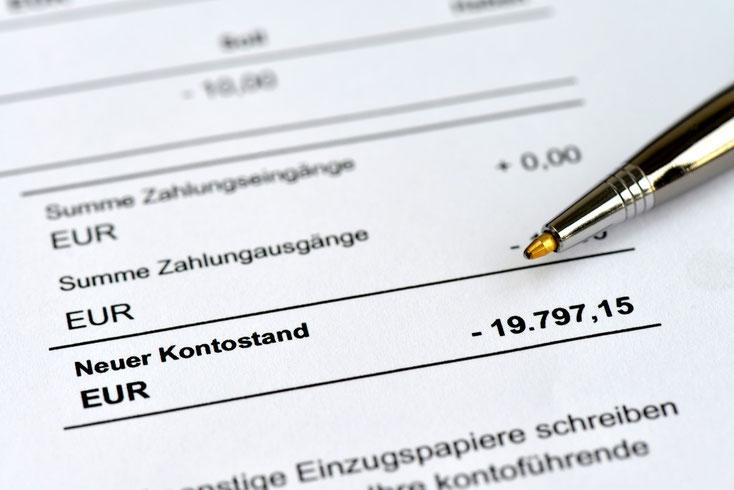 Kontostand; Wirtschaftsdetektei München, Detektiv München, Privatdetektiv München