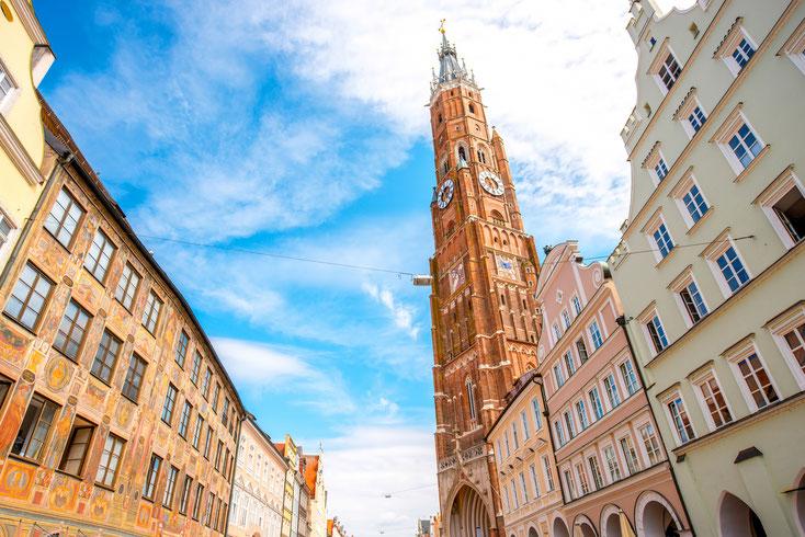 Martinskirche; Detektei Landshut, Detektiv Landshut, Privatdetektiv Landshut, Detektiv-Team Landshut
