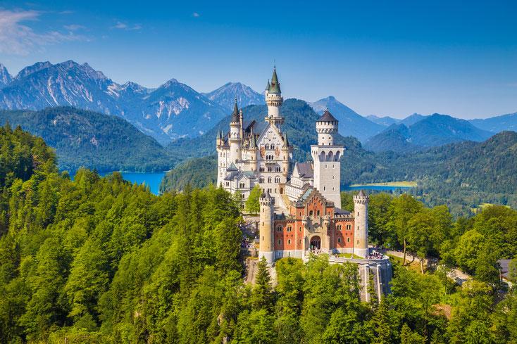 Schloss Neuschwanstein, Hohenschwangau; Detektiv Bayerisch-Schwaben, Privatdetektei