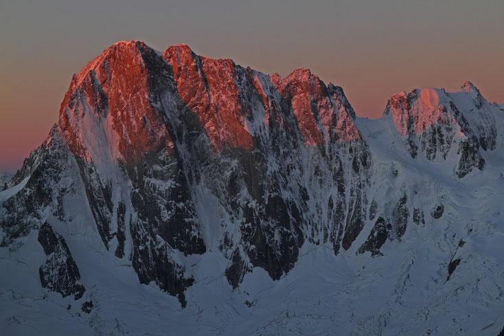 Grandes Jorasses, Mont Blanc-Gebiet