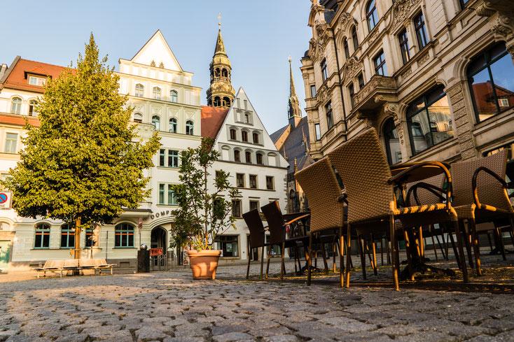 Hauptmarkt Zwickau; Wirtschaftsdetektiv Zwickau, Privatdetektei Zwickau, Detektivbüro Zwickau
