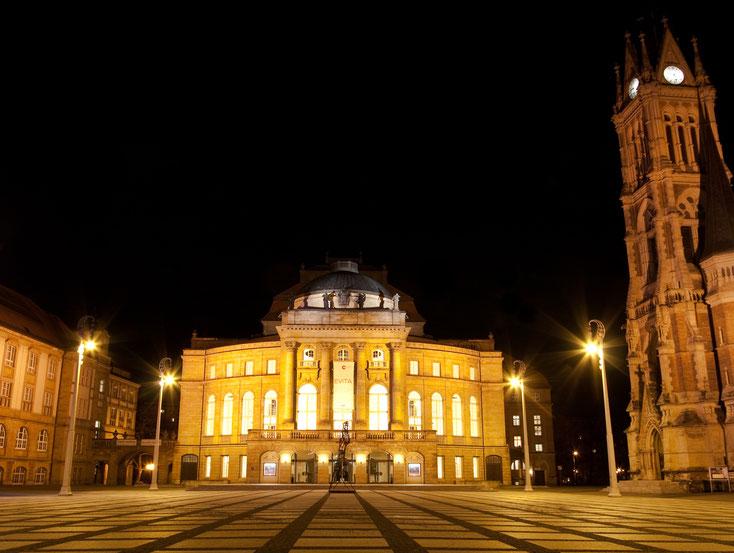 Opernhaus Chemnitz; Wirtschaftsdetektei Chemnitz, Privatdetektei Chemnitz, Detektiv-Team