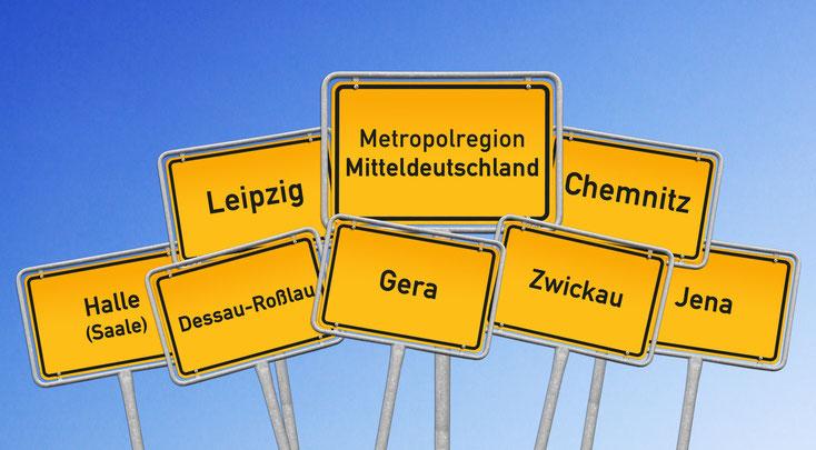 Metropolregion Mitteldeutschland; Detektei Chemnitz, Gera, Zwickau, Jenau, Dessau-Roßlau, Halle