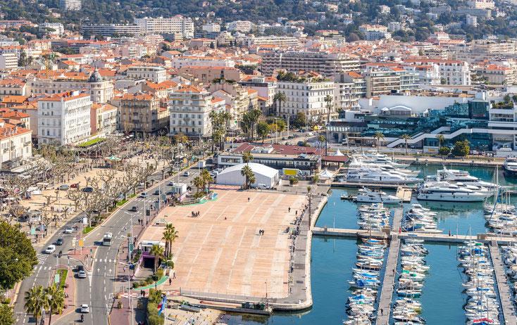 Cannes Innenstadt; Privatdetektei Cannes, Wirtschaftsdetektei Cannes, Detektiv-Team Cannes